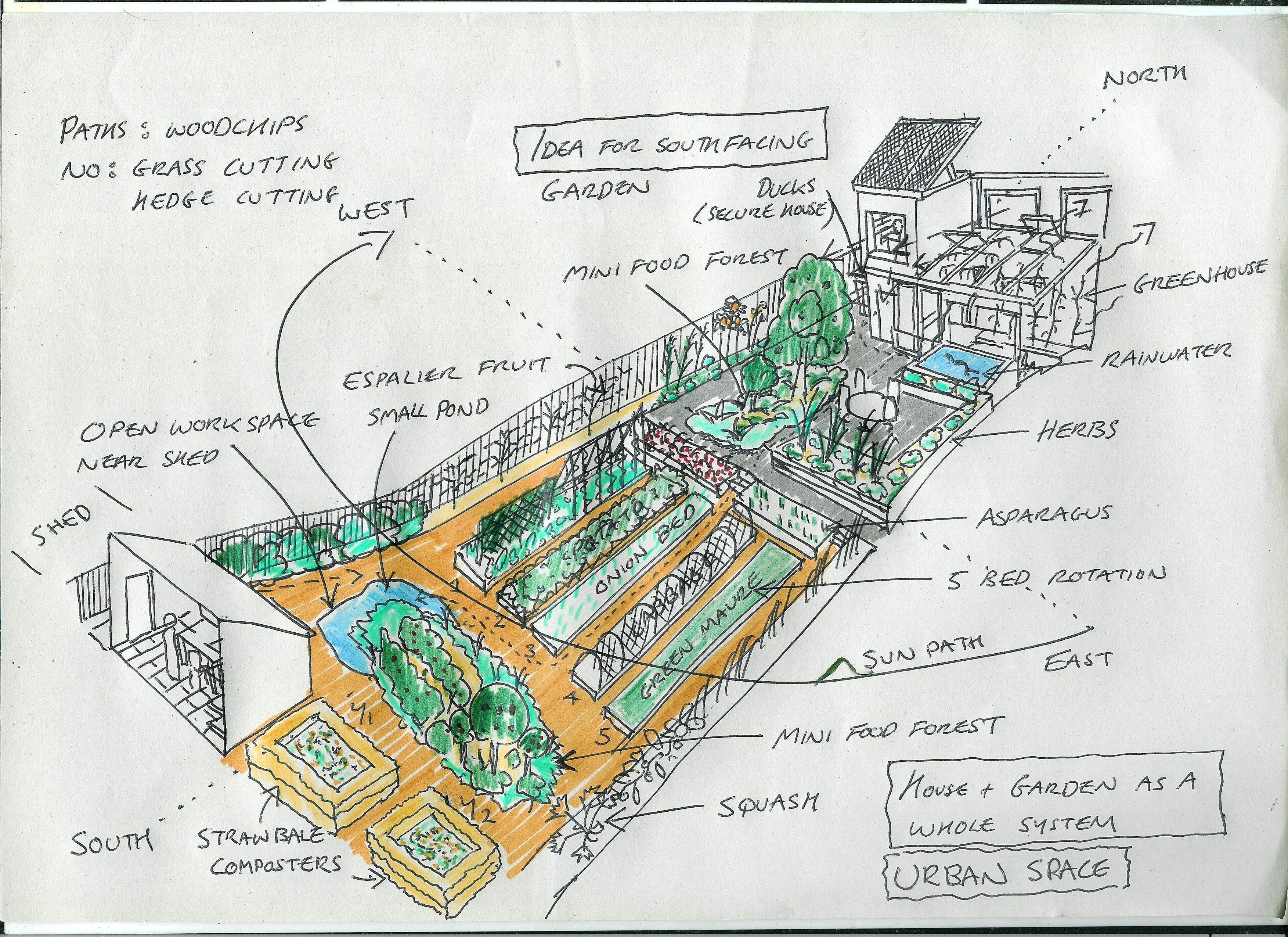 Garden design 30/07/14 | Gardening & Permaculture Design