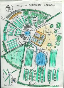 wildlife corridor garden